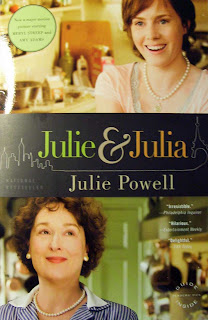 A new book release: Julie & Julia. The dual true stories of Julia Child and Julie Powell.