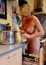 Annick en cuisine