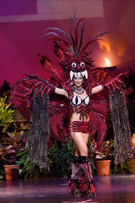 Miss Universe 2009 Best in National Costume MISS PANAMA