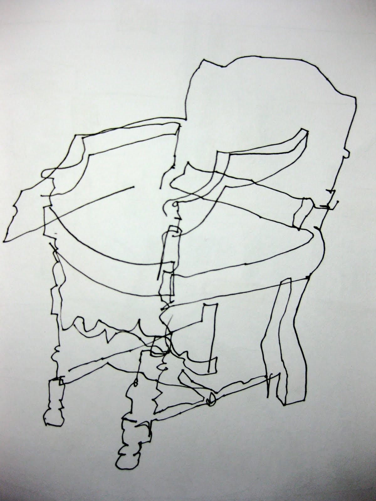 How To Do Contour Line Drawing : Enjoy every day november