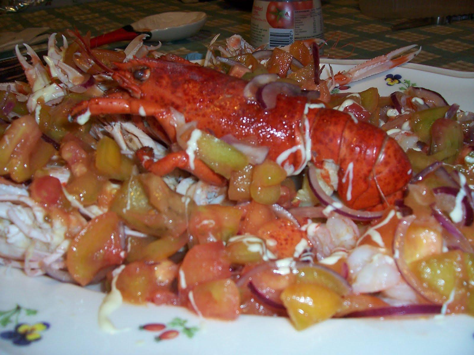 La Cucina Di Valentina: Catalana Di Crostacei! #A53F26 1600 1200 Foto Di Mattonelle Per Cucina