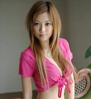 pink bikini maeshima Miho