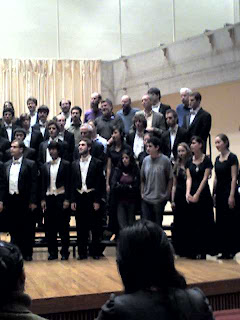 Amherst College Choral Society. Can you find Dennis?