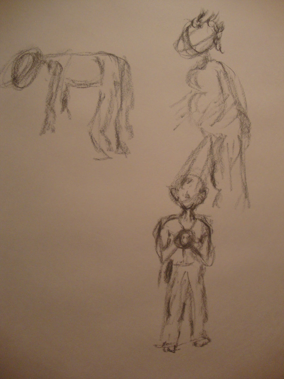Contour Line Drawings Of Figures Or Objects : Theartofdrawingone week gestures positive negative