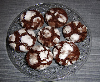 mint chocolate cookies (onemorehandbag)