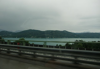 Wörther See seen from the A2 (onemorehandbag)