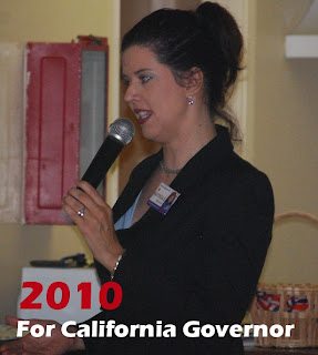 Chelene Nightingale - candidate for the California Gubernatorial race of 2010