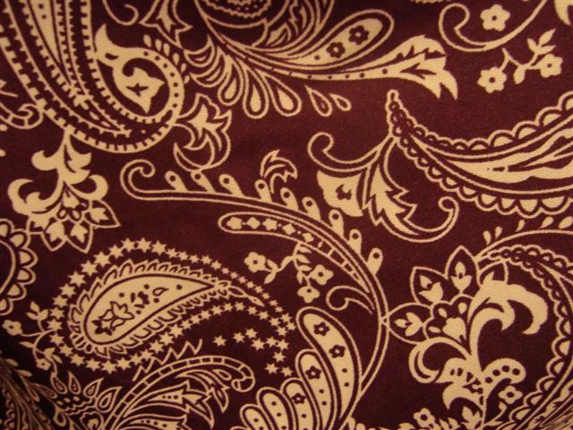 Vintage*Maroon Batik