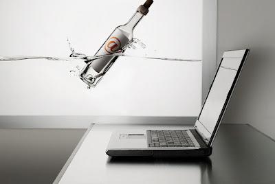 Há sempre uma mensagem numa garrafa à espera de ser descoberta.