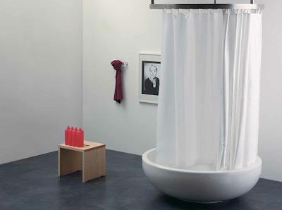 Tende vasca da bagno leroy merlin boiserie in ceramica for Tende per doccia