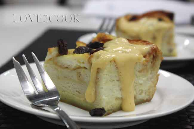 Bread Pudding With Vanilla Custard Sauce Recipes — Dishmaps