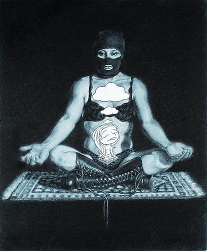Artist, Isis Rodriguez, The Meditation
