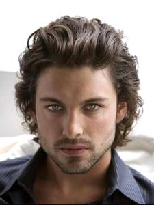 Curly Hairstyles For Men - Hair Highlighting