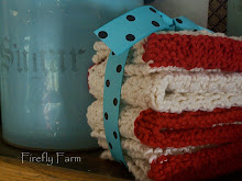 for you~waffle knit dishcloth pattern