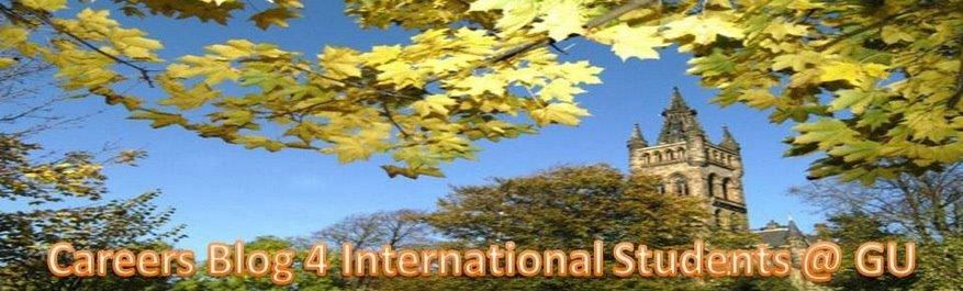 Careers Blog 4 International Students @ GU