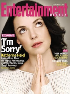 katherine heigl, grey's anatomy, entertainment weekly