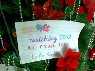 lovenote from Santa
