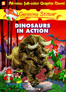 Geronimo Stilton, Dinosaurs in Action, Graphic Novel