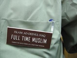 full time muslim.