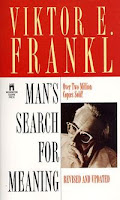 Cover of Viktor Frankl's book Man's Search for Meaning.  Published by Washington Square Press.  Revised and released October 23, 1984.