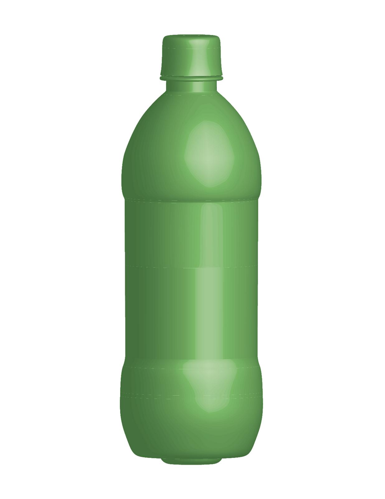 how tall is soda bottle