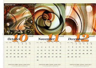 4th release of 2008 Calendar Design by Ian Yang