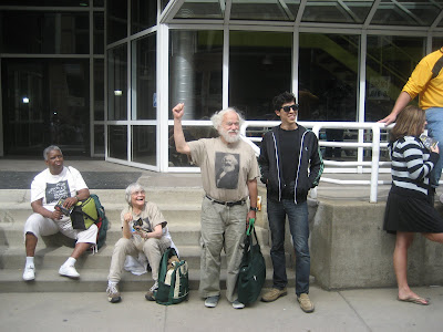 Karl Marx impersonator at g20 pittsburgh