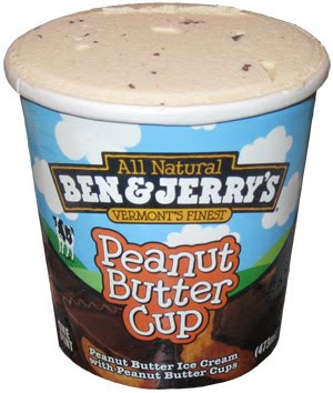 ben and jerry peanut butter ice cream