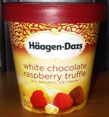 On Second Scoop: Ice Cream Reviews: Haagen-Dazs White Chocolate ...