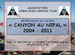 "L'action ""Canyon au Népal"" en diapo"