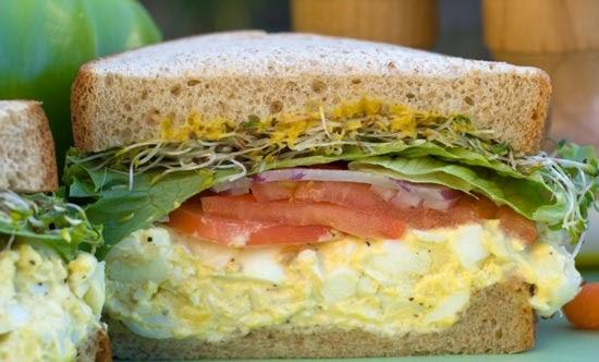 Easy Egg Salad Sandwich Recipe | Sandwich Recipes