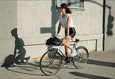 Site Blogspot  Mens Bikes on Men S Bike A Leather Skirt High Heel Wedges
