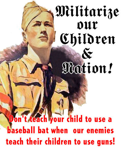 Militarize our Children