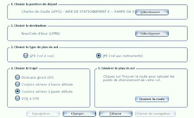 Option plan de vol