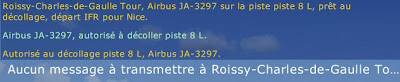 Tutoriel FSX - Effectuer un vol IFR - Le décollage et le vol de croisière