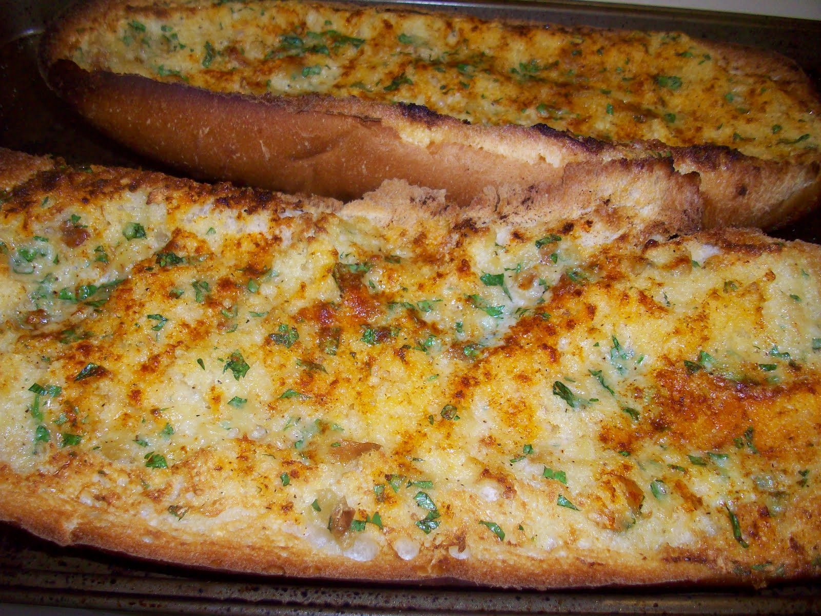 Cooking with Green: Garlic Bread