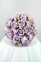 Purple Wedding Posy
