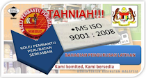 MS ISO 9001 : 2008