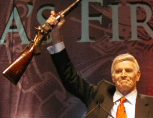 FLASHBACK: Charlton Heston: From My Cold, Dead Hands!
