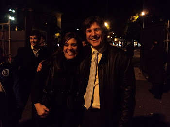 Con el compañero Amado Boudou