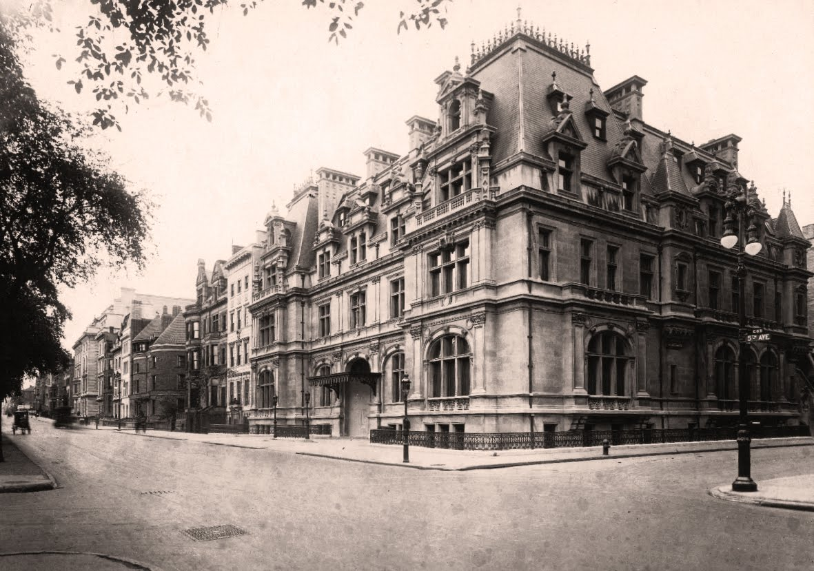 Mansions of the gilded age mrs astor 39 s mansion for Nyc mansions for sale