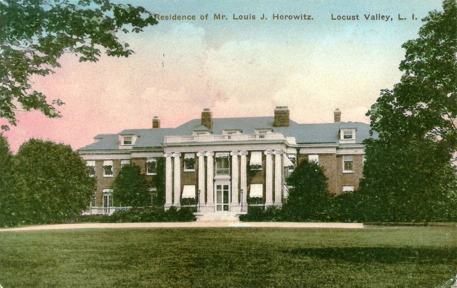 Mansions Of The Gilded Age Residence At Locust Valley Of