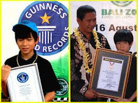 Dominic Brain masuk Guinness World Records
