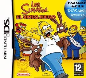 Los Simpson - El Videjuego - Descarga Directa - Juegos NDS