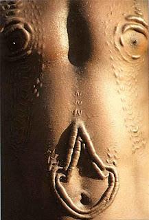 Африка, татуировки, шрамирование