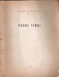 """Roberto T. Speroni: Tapa de """"Padre Final"""""""