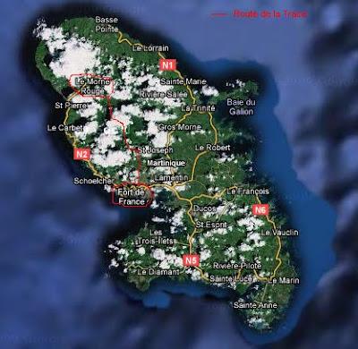 La route de la Trace et Morne-Rouge dans La vie en Martinique m
