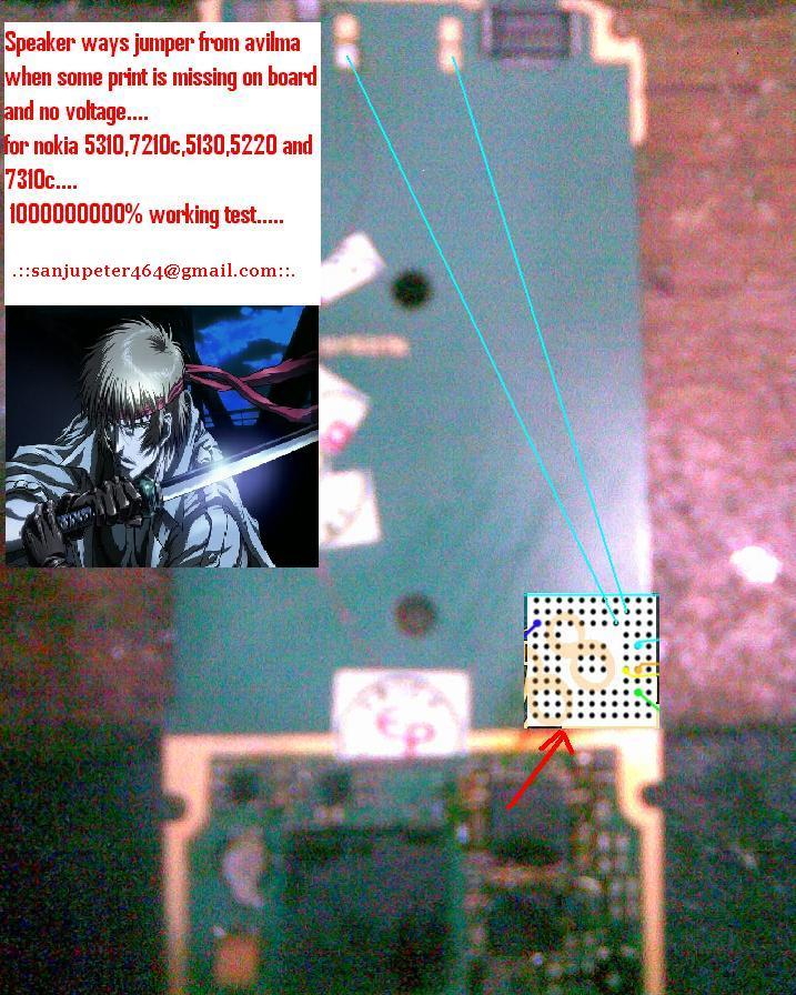 7210c mic solution. Nokia 5310-7210c-5130-5220