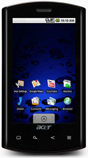DownloadNews | Acer Liquid A1 With Black Color Option