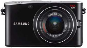 Samsung NX100 Gets Firmware Update Version 01.01